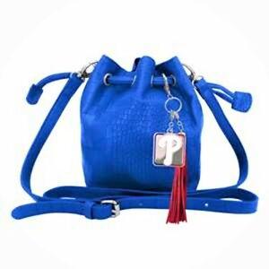 Philadelphia Phillies MLB Authentic Charming Mini Bucket Bag by Littlearth NEW
