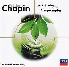 CHOPIN : 24 PRELUDES, 4 IMPROMPTUS - VLADIMIR ASHKENAZY / CD - TOP-ZUSTAND