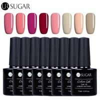UR SUGAR 8 Stk UV Gel Nagellack Soak off Color Gel Lack Maniküre Set 609-616