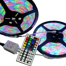 10m 3528 RGB SMD 600 LED Waterproof Change Color 12v Light Strip 44key IR Remote
