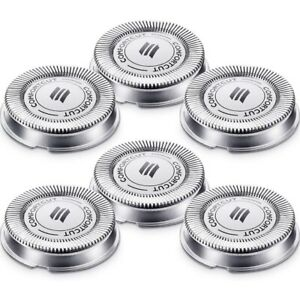 6 Packs SH30 Replacement Head Shaver Replacement Heads Compatible for Phili C1U8