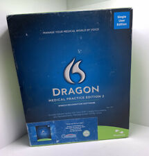 Nuance Dragon Medical Practice Edition 2 Speech Recognition Software Single User