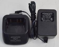 TK340 KENWOOD KSC-18 DESK TOP RAPID CHARGER AND POWER SUPPLY TK250 TK320 TK35