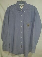 Men's Clothing Tommy Hilfiger Classic Button Front ~ Embroidered ~ 15 1/2-34