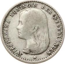 Kgr. Niederlande, Wilhelmina,10 Cents 1892