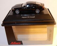 MICRO IN METALLO DIE CAST SCHUCO HO 1/87 JAGUAR XK COUPÉ NERO IN METALLO IN BOX