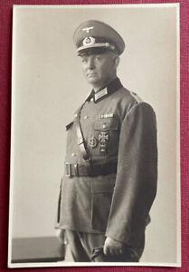 Wk2 Portraitfoto 1943 - Art.Regt.83/Schlesien Freikorps/ Minsk Russland