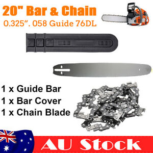 "20"" Chain and Guide Bar Chainsaw 325 058 76DL Fit Baumr-Ag SX62 SX66 62CC 66CC"