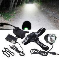 2000 Lumens CREE XM-L T6 LED Cycling Bike Bicycle Headlight Headlamp Lamp Light