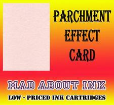 Pink Parchment Effect Card For Craft & Inkjet Printers 30 Sheets A4 150gsm