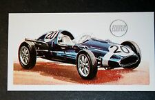 Cooper Climax   1958 Racing Car     Vintage Card   VGC