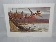 REMINGTON ARMS PIONEERS IN CONSERVATION LITHO PRINT SET OF 4 1977 TOM BEECHAM