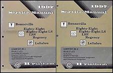 1997 Shop Manual Pontiac Bonneville Buick LeSabre Oldsmobile Regency LSS LS 88