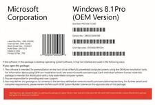 Genuine Sealed Microsoft Windows 8.1 Professional 64 Bit DVD with product key