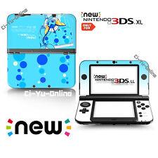 [new 3DS XL] Pokemon Eevee Evolutions #5 Vaporeo VINYL SKIN STICKER DECAL COVER