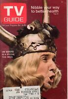 1968 TV Guide October 19 - Gomer Pyle; Ghost and Mrs Muir; Howard Cosell; J Webb