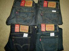 Levis 527 Jeans New Men Levi's Slim Fit Boot Cut Retail $60