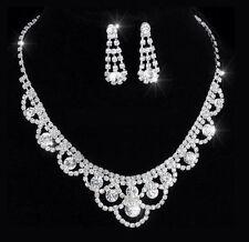 Markenlose Modeschmuck-Halsketten & -Anhänger im Collier-Stil mit Strass-Perlen