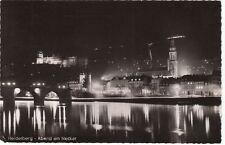 072R  AK  Ansichtskarte Heidelberg  Abend am Neckar