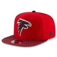 Atlanta Falcons Hat ATL New Era 9Fifty 950 Snapback Original Fit Cap Black Red
