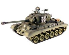 1:16 Taigen M26 Pershing RC Tank Smoke & Sound 2.4GHz Metal Gear & Tracks New