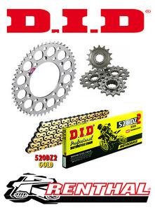 Renthal / DID Chain & Sprocket Kit to fit Husqvarna WR 125 1998-2013