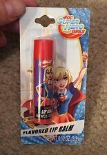 DC Super Hero Girls Supergirl Cherry Flavor Lip Balm
