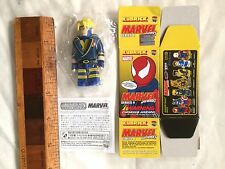 MEDICOM TOY MARVEL HAVOK X-MEN KUBRICK SERIES 4 BRICK ACTION FIGURE NM + BOX!!!