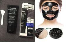 Masque visage peeling noir au charbon anti-acné boutons points noirs 100g