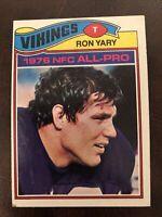 1977 Topps #150 Ron Yary HOF Minnesota Vikings / USC Trojans