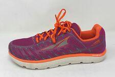 Altra Women's One V3 Running Shoe, Purple/Orange, 8.5 B Us Used