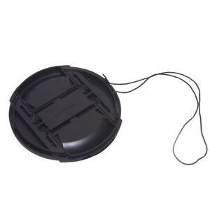 8 Sizes Camera Center Pinch Snap On  Front Len Cap Cover For Canon Nikon Sony