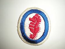 US ARMY WWII ENGINEER SPECIAL BRIGADES PATCH (ORIGINAL)