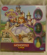 Sofia the First Monopoly Junior Edition New Hasbro Disney