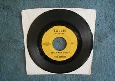 THE BEATLES  TWIST AND SHOUT   TOLLIE RECORDS 45  BLOCK PRINT LABEL