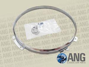 RANGE ROVER CLASSIC '70-'85 CHROME PLATED INNER HEADLAMP RETAINING RIM (PRC7992)