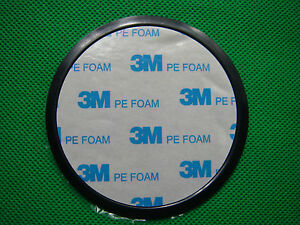 AP020 80mm Console Dashboard 3M ADHESIVE for Suction Cup Mount Disk Base Plate