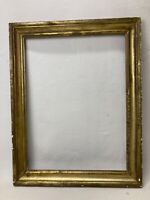 Antique 19th Century Lemon Gold Gilt 24x18 Picture Frame b