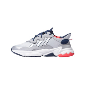 [Adidas Originals] Ozweego Shoes Sneakers - Silver/Navy/Yellow(FV9650)