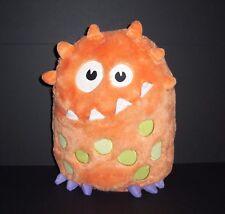 Circo Targe Orange Monster Party Pillow Plush Pajama Bag Keeper Stuffed Animal