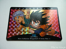 Carte Dragon Ball Z Card DBZ / Hero Collection Part 3 - Prism N°323 / NEW