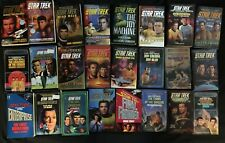 Lot of 24 Star Trek TOS Paperbacks Vulcan's Heart, Bloodthirst, Mudd in Your Eye