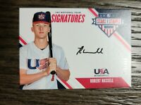 2020 Panini Stars Stripes Robert Hassell Rookie Autograph Auto #178/499 PADRES