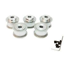 Pack of 5pcs 3M Timing Belt Wheel Pulley 40 Teeth Bore 8mm 12mm Teeth Width 15mm