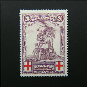 BELGIUM, Scott #B30, 20c Semipostal, VF, Mint Lightly Hinged, cv$87.