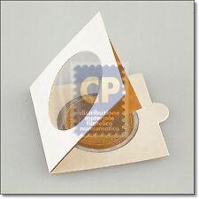 OBLO' da PINZARE x MONETE diametro Ø da 43 mm. 67 x 67 - VENDITA da 5 pezzi