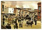 1906 SAN FRANCISCO EARTHQUAKE DEVASTATION with WRECKED HOUSES~NEW 1983 POSTCARD