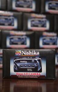 Nishika N9000 (BRAND NEW!) Quadra Lens System 35mm 3-D Camera