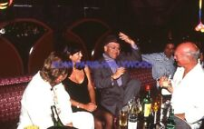 JOHNNY HALLYDAY ELTON JOHN 90s DIAPOSITIVE DE PRESSE ORIGINAL VINTAGE #433