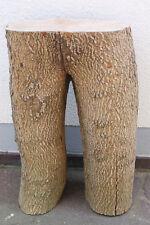 Holzstamm 67cm hoch Baumstamm Deko Dekoholz Skulptur Holzhocker Katzenbaum Holz-